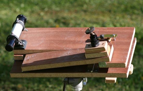 Steve Irvine Astro Photography Double Arm Barn Door Tracker